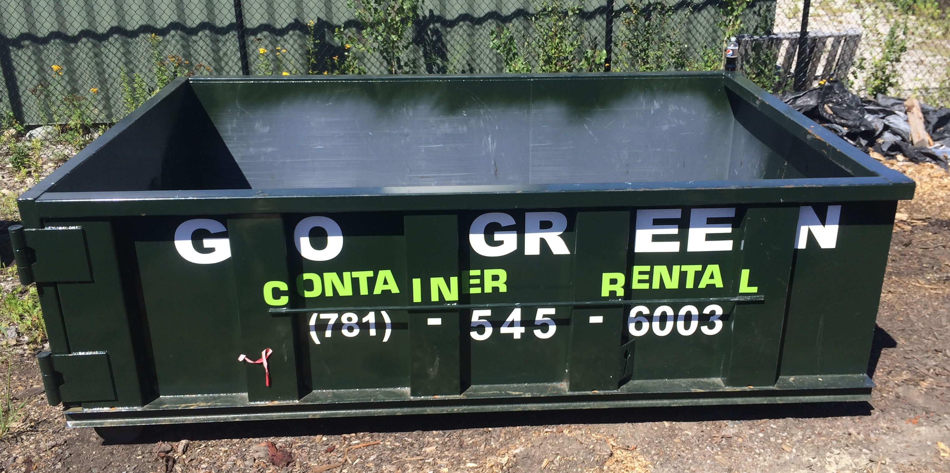 GOGREEN-DUMPSTER-RENTAL-CAPECOD-SOUTH SHORE-MASSACHUSETTS - FREE DELIVERY